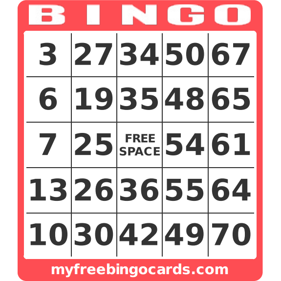 Obsessed image in free printable bingo cards 1-75