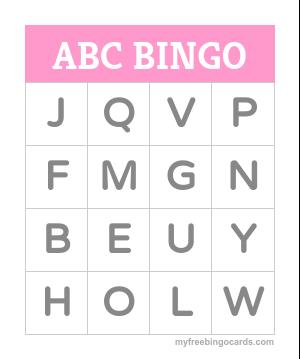 free blank bingo card template