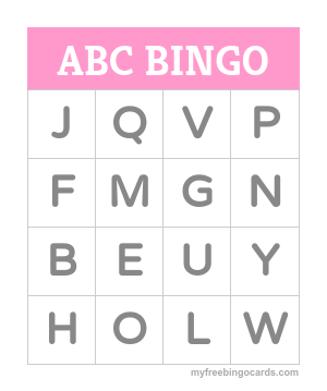 photo regarding Printable Bingo Cards for Kids identified as Absolutely free printable bingo card generator