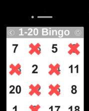 1 20 mobile bingo game