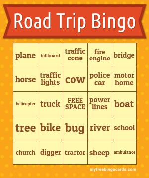 Road Bingo