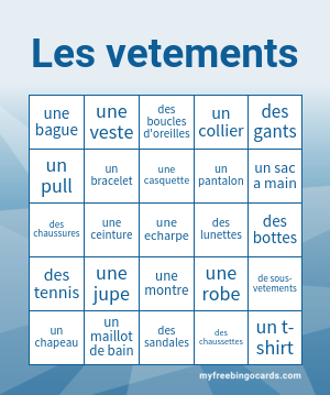 Les Vetements Bingo