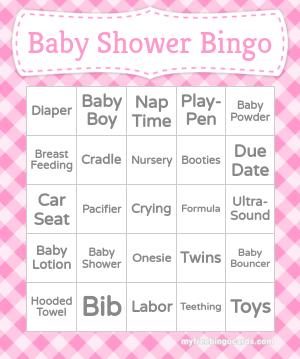 Baby bingo generator free printable