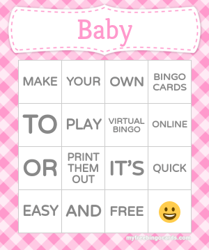 Edit bingo cards