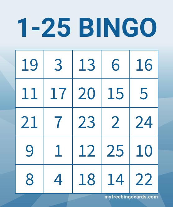 25 Bingo