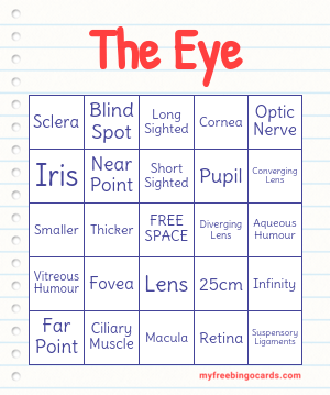 The Eye Bingo