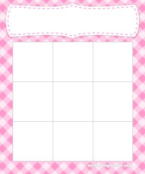 Free Printable And Virtual Bingo Card Templates